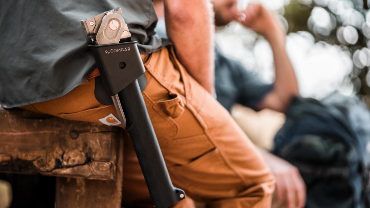COMBAR Pro Elite Adventurer Tool Survival Device is five tools in one