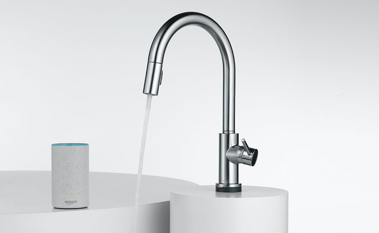 This Voice Activated Faucet Also Responds To Touch