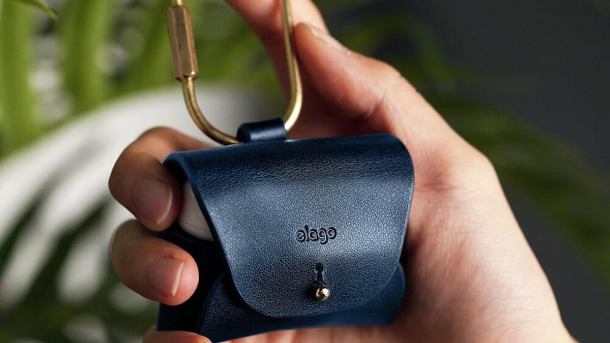 Elago AirPods Pro Leather Case Mini Earbud Purse develops unique characteristics over time