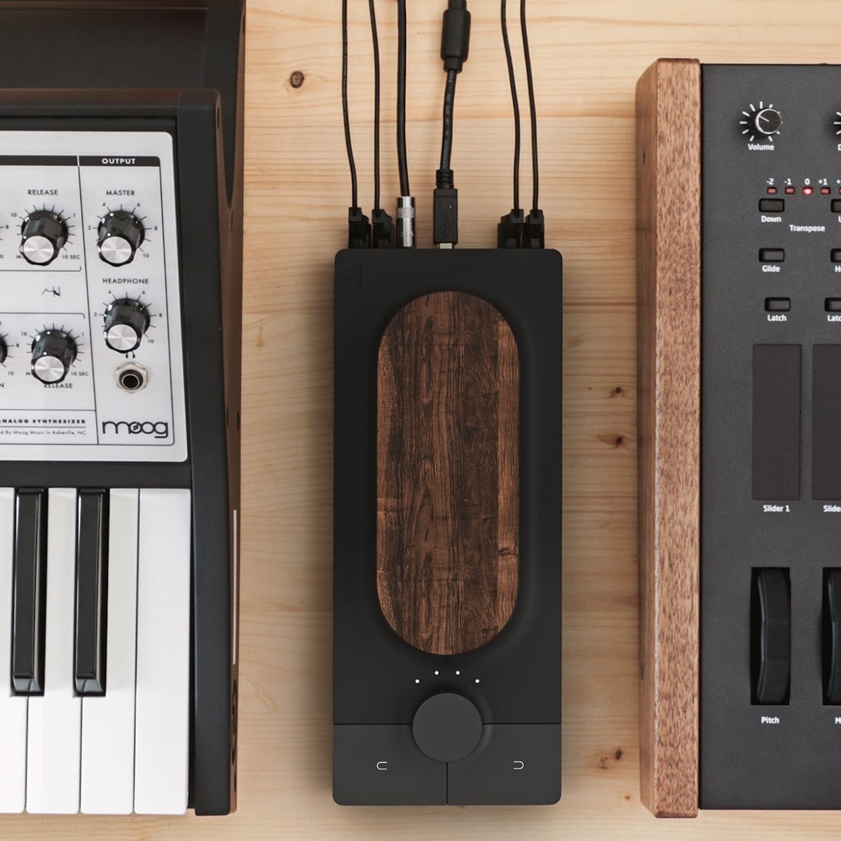Expressive E Touché Expressive Instrument Controller manages both hardware and software synthesizers