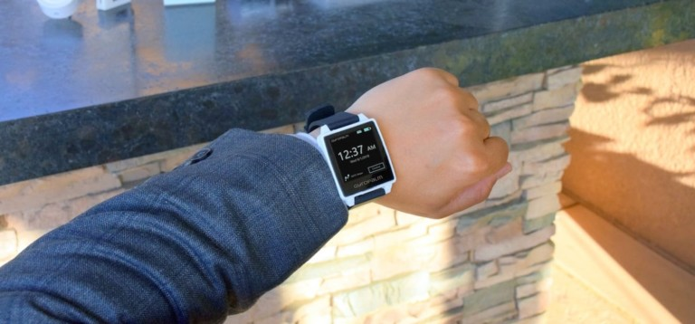Make life easier with this gesture-control smartwatch