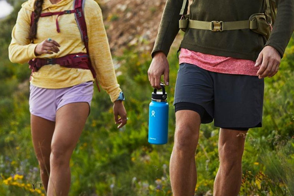 Hydro Flask Wide Mouth Stainless Steel Bottles make it easy to stay hydrated