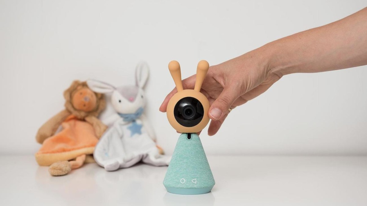 KamiBaby Breathing Magnifier Baby Monitor lets you view your baby's breaths