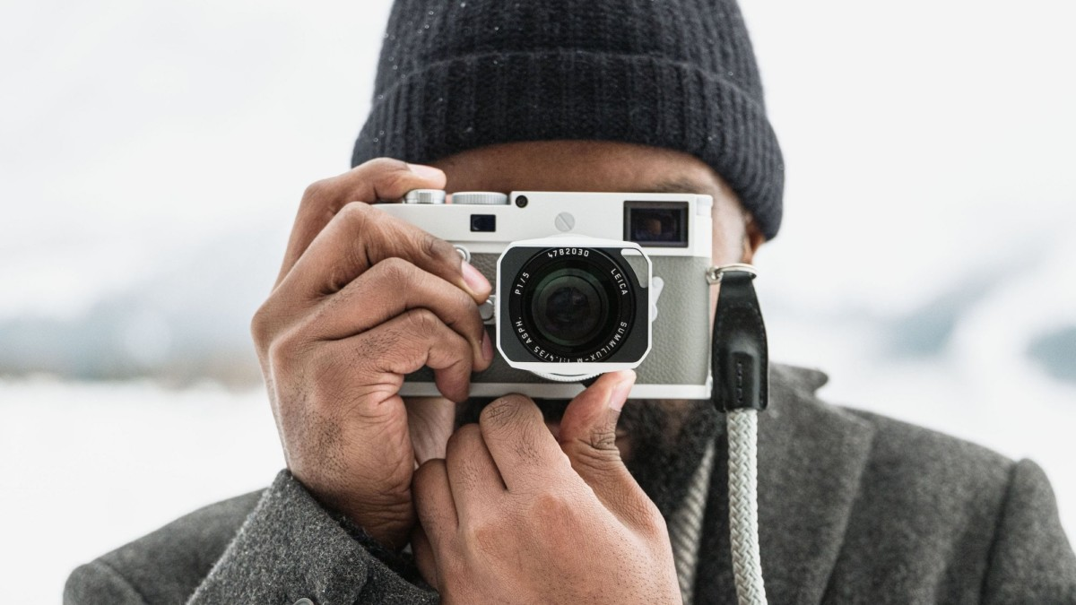 Leica M10-P Ghost Edition Timeless Camera is inspired by a faded-dial watch