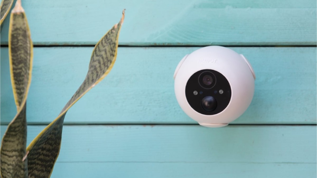 Litmor Battery Cam Rechargeable Security Camera works in any weather, anywhere, any time