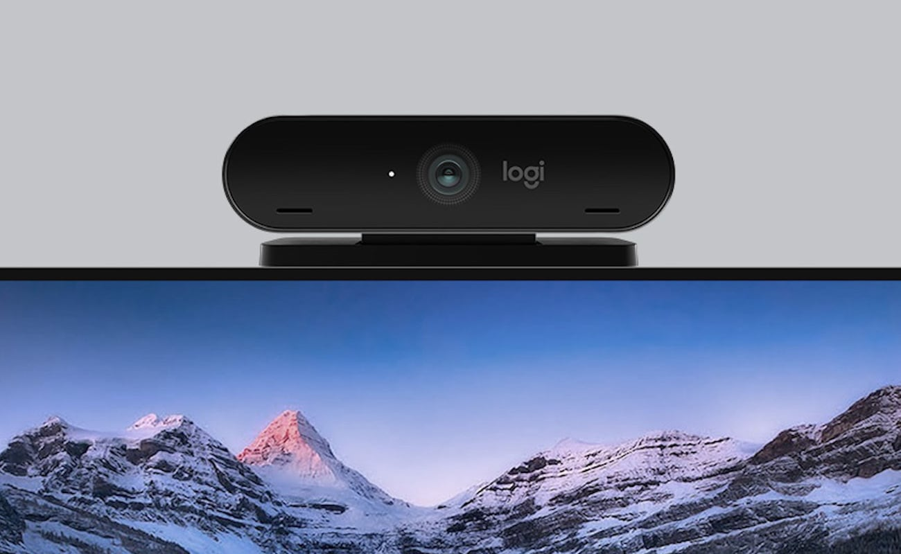 Logitech 4K Pro Magnetic Ultra HD Webcam works with your Apple Pro Display XDR for incredible picture