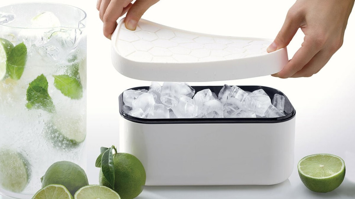 MoMA Reversible Lid Ice Box is perfect for your next party