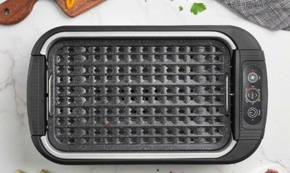 Electric Smokeless Grill by VonShef