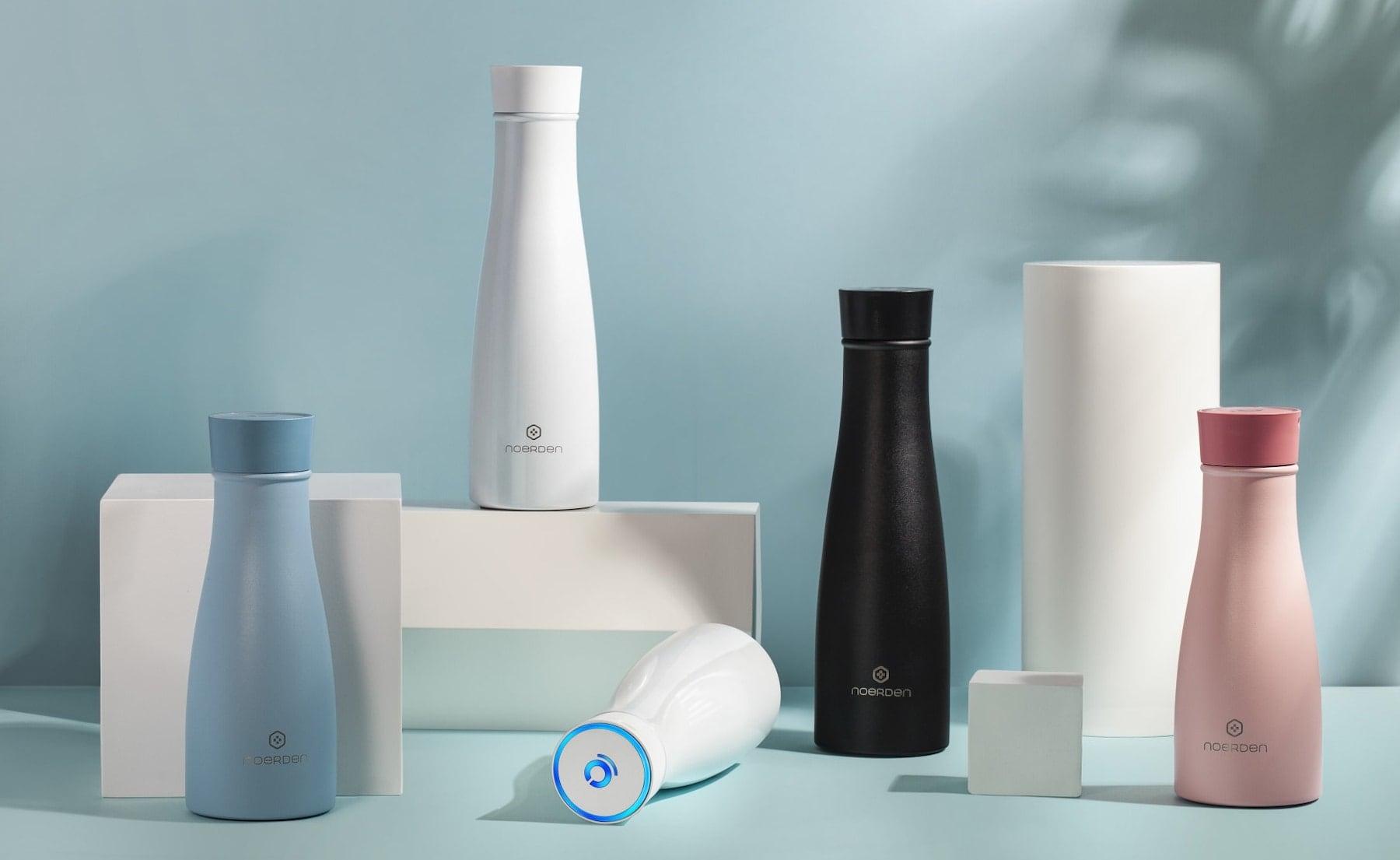 NOERDEN LIZ Self-Cleaning Smart Bottle sterilizes itself