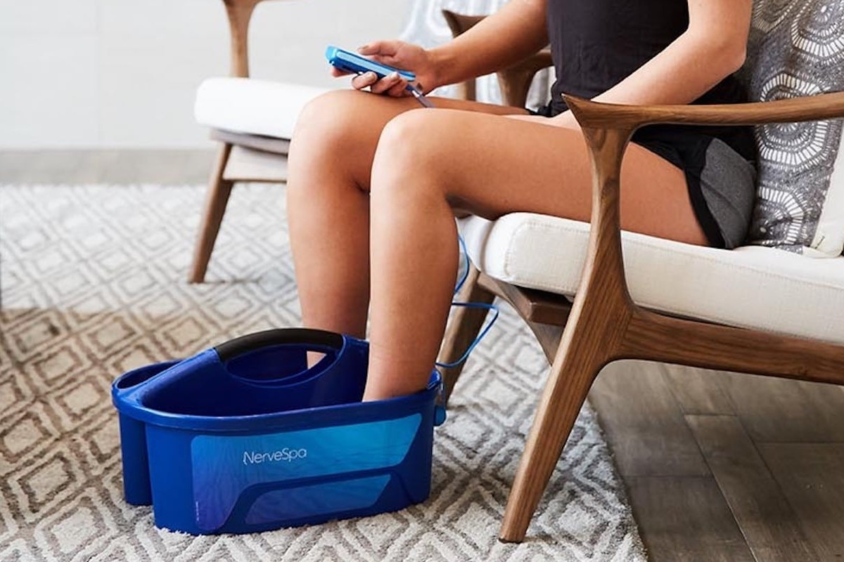 NerveSpa Peripheral Neuropathy Massager helps comfort your nerve pain