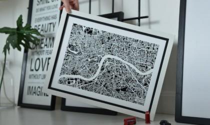 NiteLanding Lamp Aerial City Light-Up Art