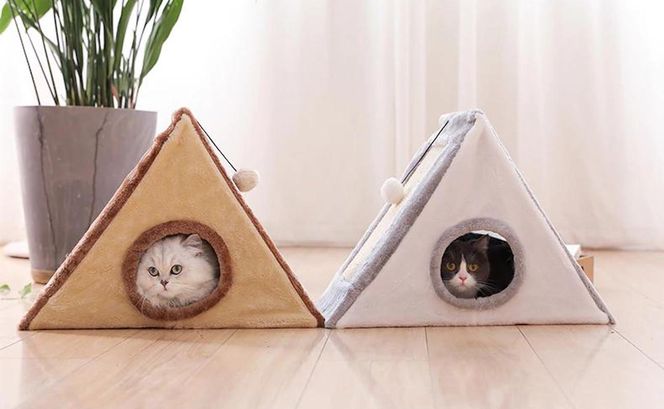 Playful & Enriching Cat Teepee Bed is all about fun for your cat