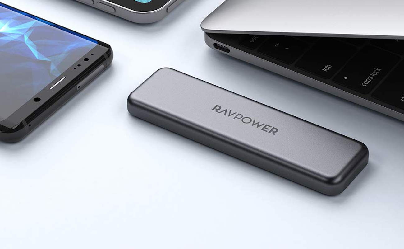 RAVPower Mini External Portable SSD Hard Drive transfers your data incredibly fast