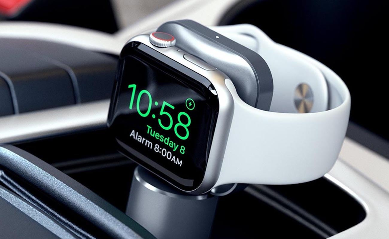 Satechi USB-C Apple Watch magnetic charging dock doesn't need to use an annoying cable