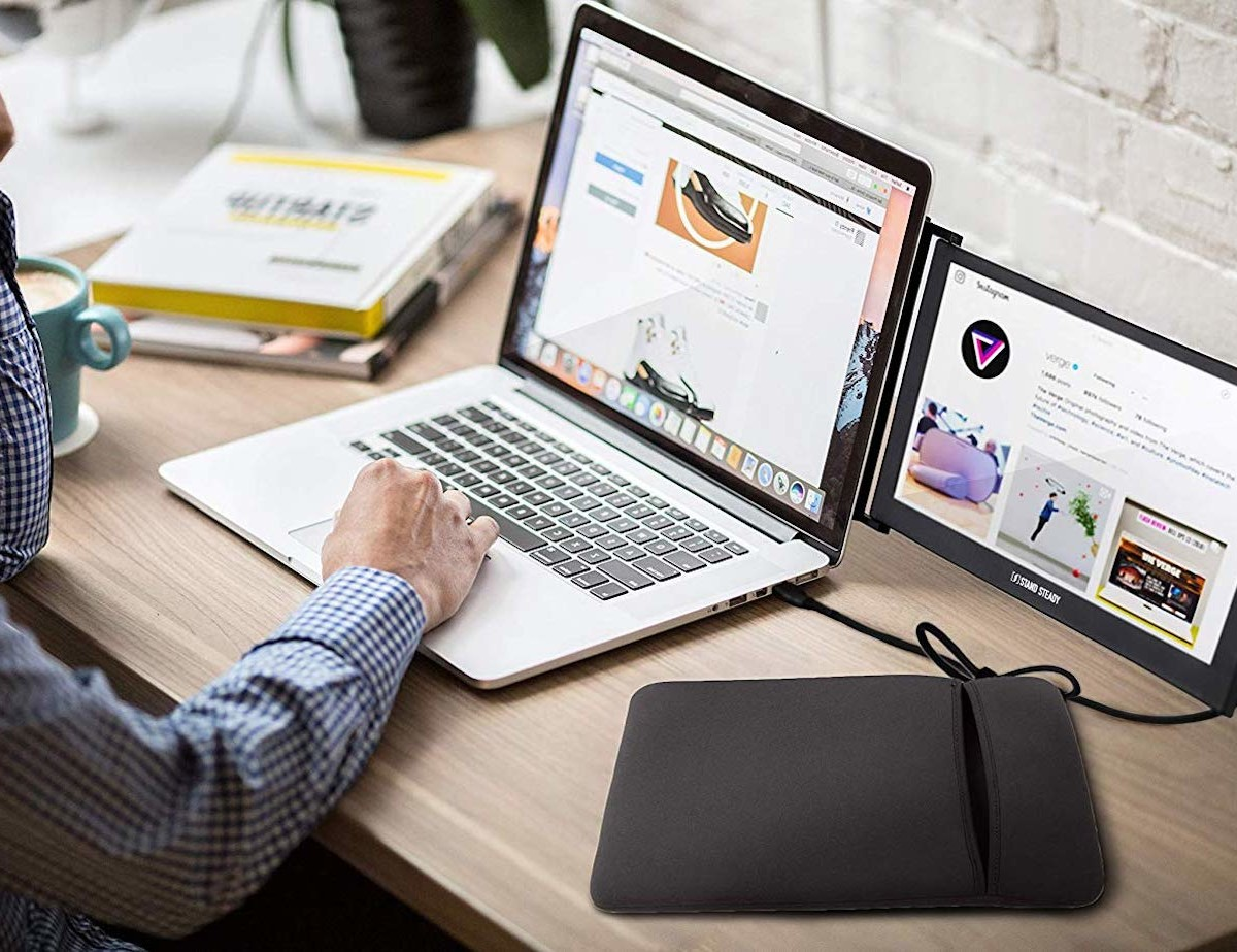 SideTrak USB Screen Portable Dual Monitor makes you more productive on the go