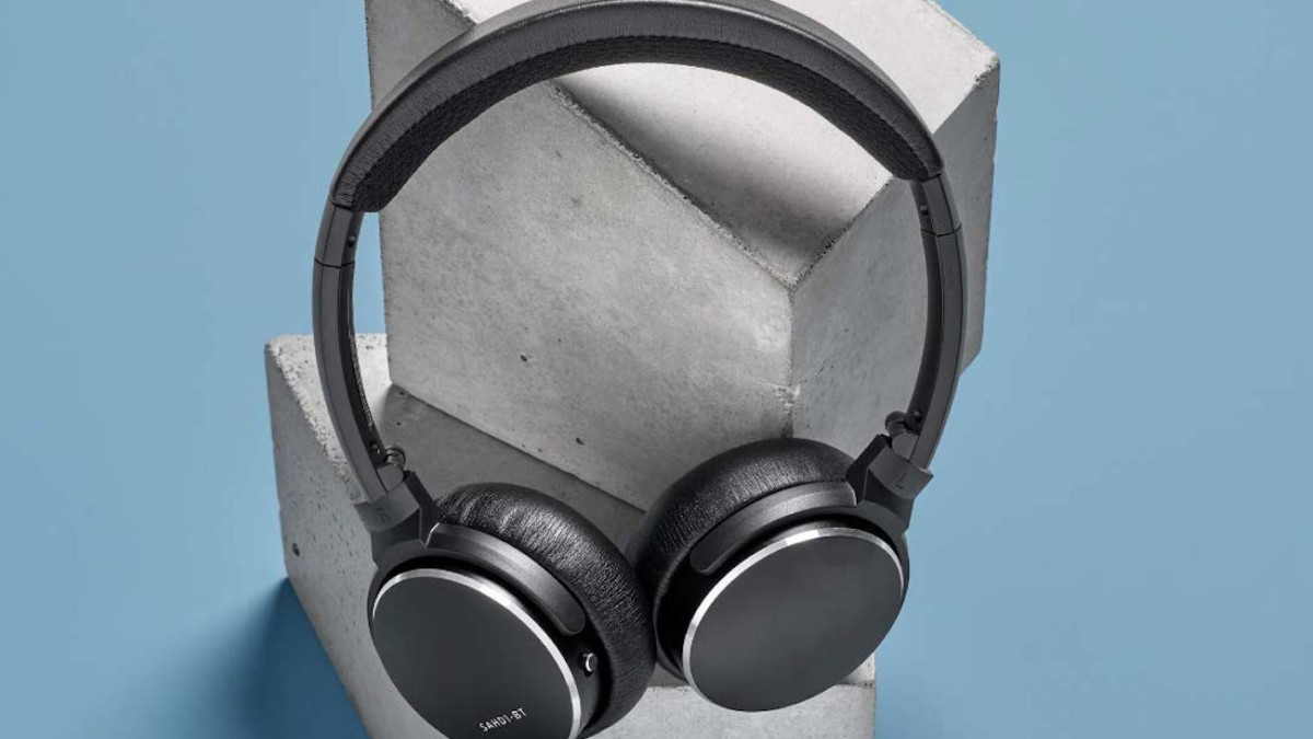 Status BT One Slim Fit Headphones provide 30 hours of battery life
