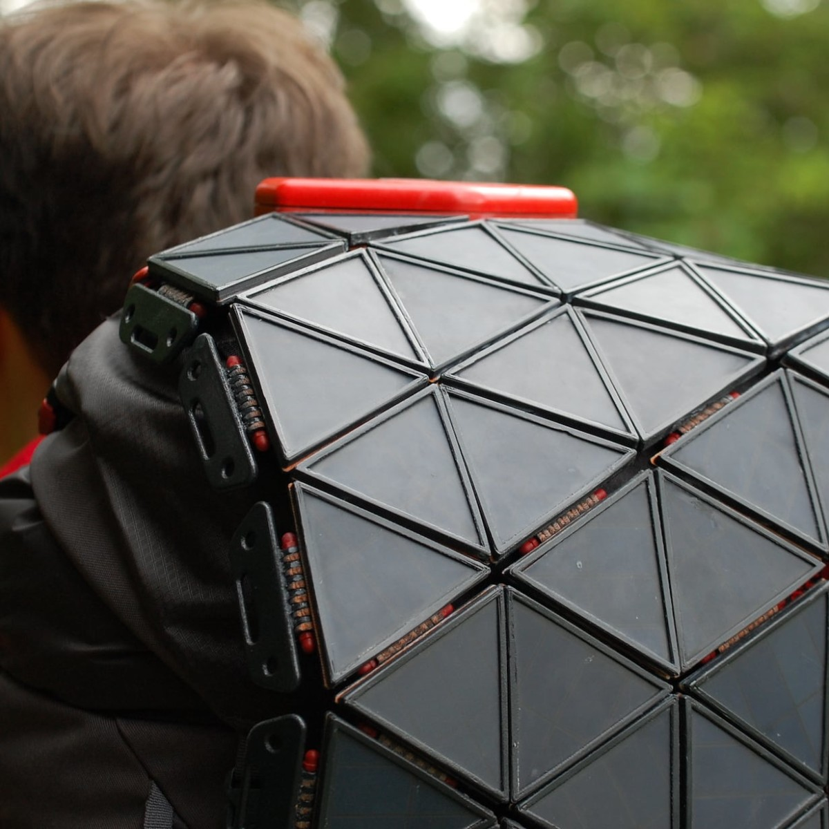 The North Face SunUp Solar Backpack offers an efficient way to obtain energy while backpacking