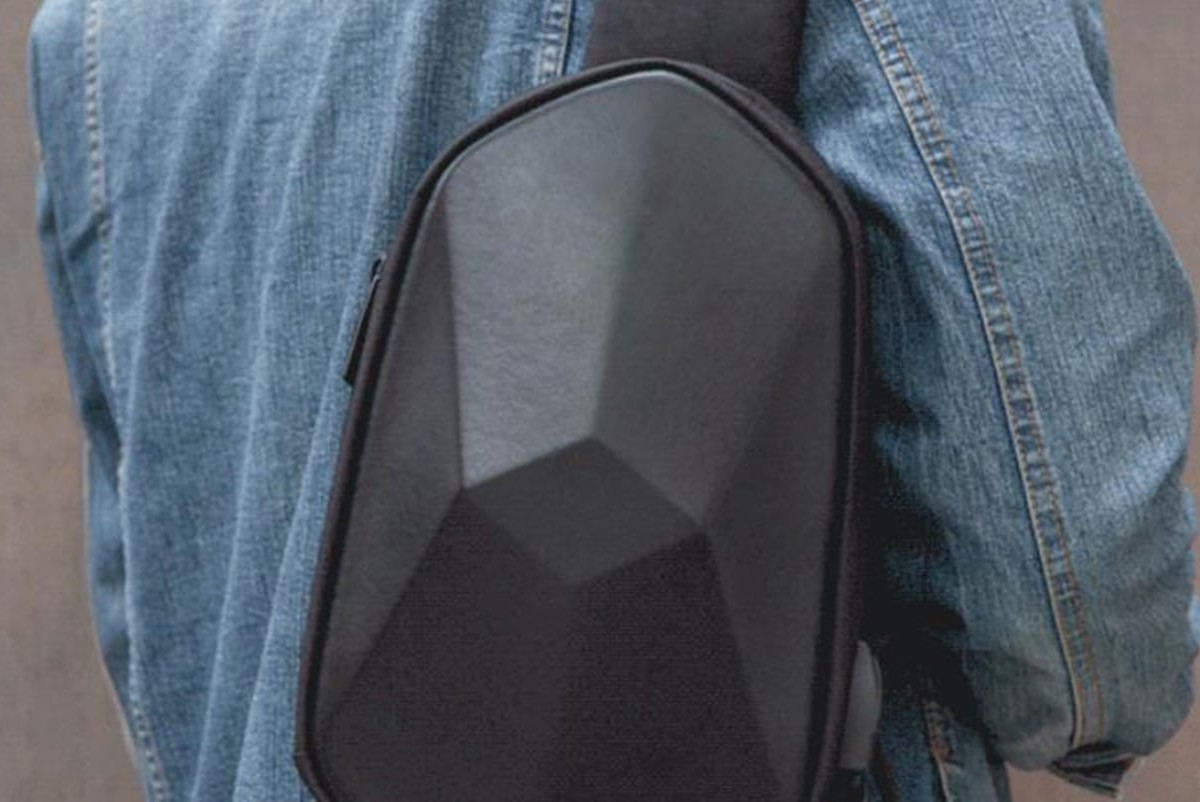Unique Polyhedron Waterproof Backpack is sure to make you stand out