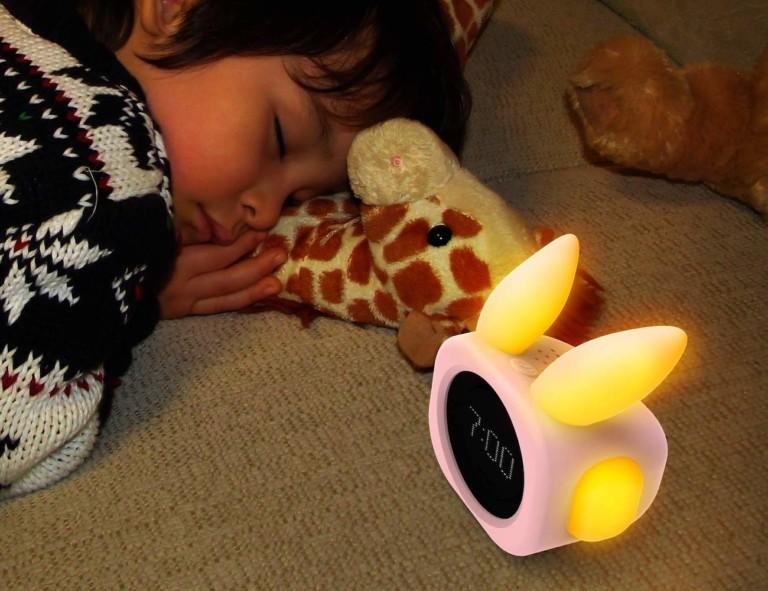 Alexa-compatible gadgets Vobot Bunny Smart Sleep Trainer