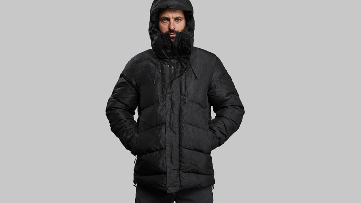 Vollebak Indestructible Puffer Dyneema Jacket is stronger than a steel-plated coat