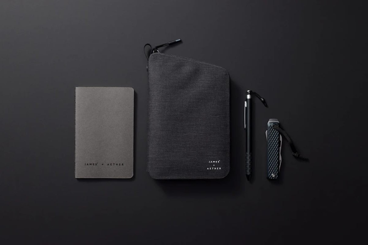 Weatherproof EDC Kit by James Brand & AETHER includes all your daily-use items