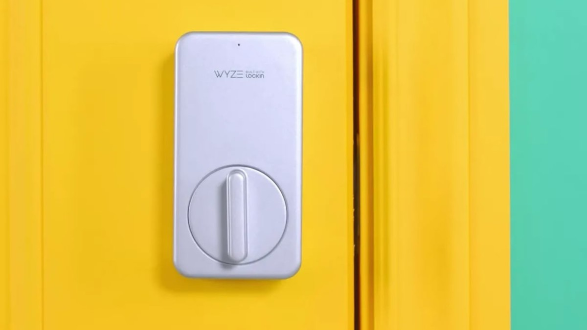 Wyze Lock Wireless Smart Lock allows you to remotely lock and unlock from anywhere