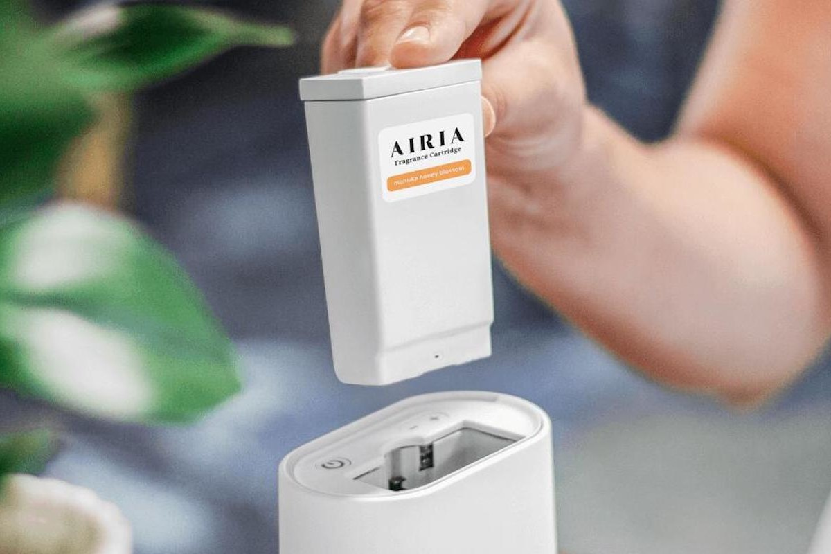 AIRIA Smart Scent Device delivers a personalized scent experience