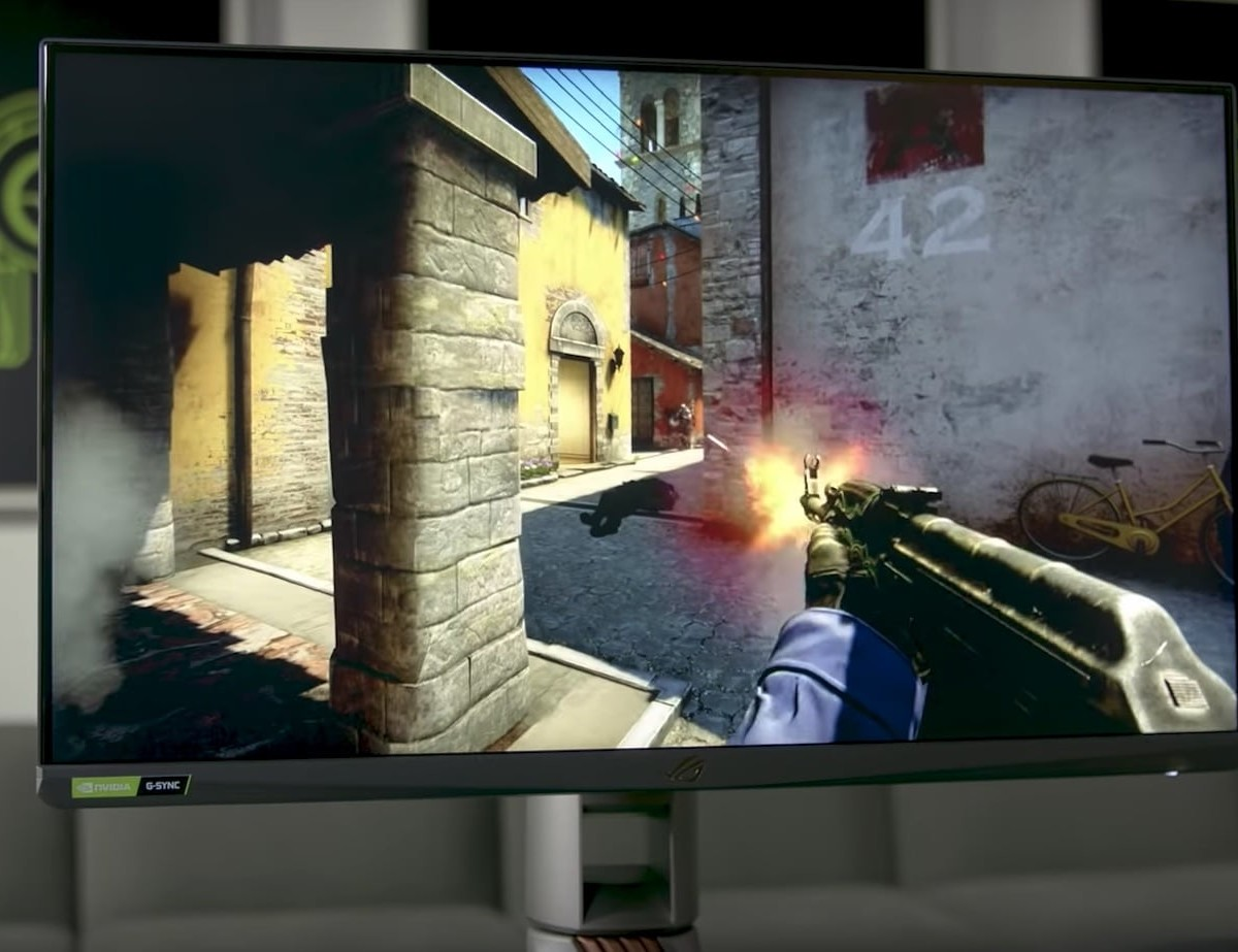 ASUS ROG Swift 360Hz Gaming Monitor refreshes faster than you can