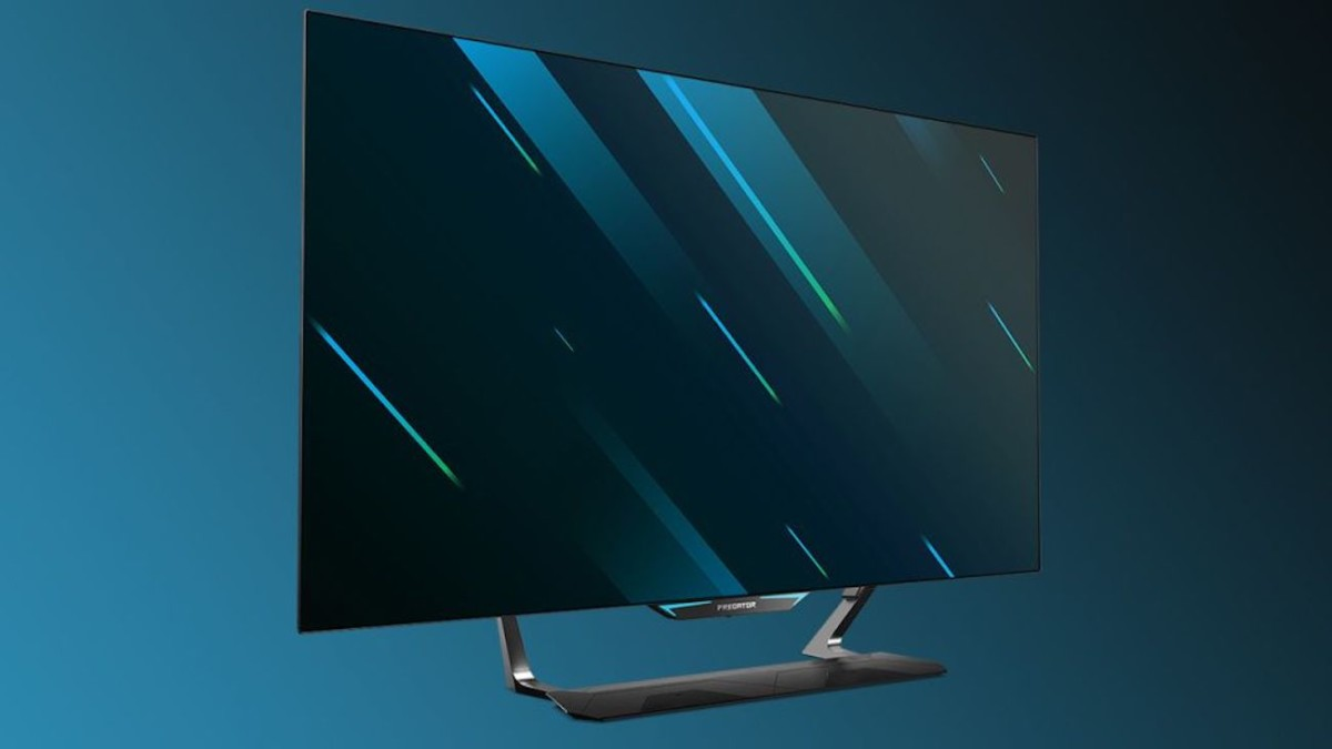 Acer Predator CG552K 4K OLED PC Gaming Display lets you game like never before