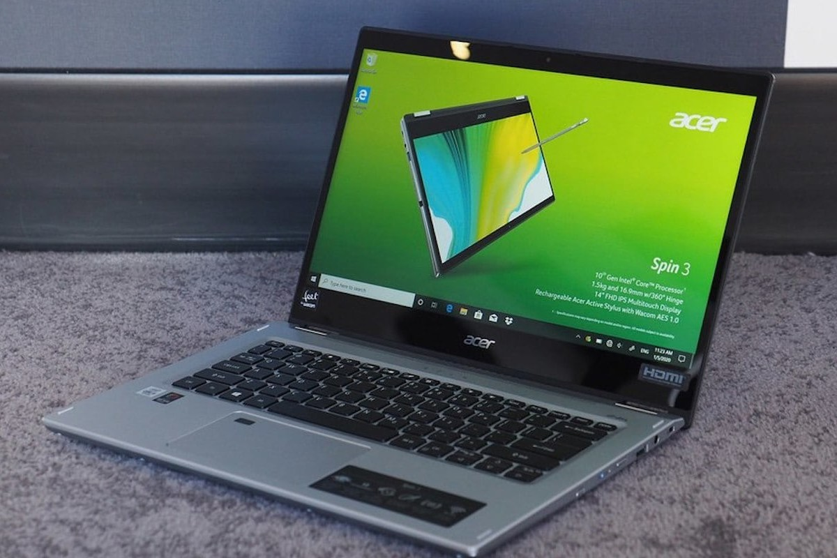 Acer Spin 3 2020 Convertible Laptop lets you easily work on the go