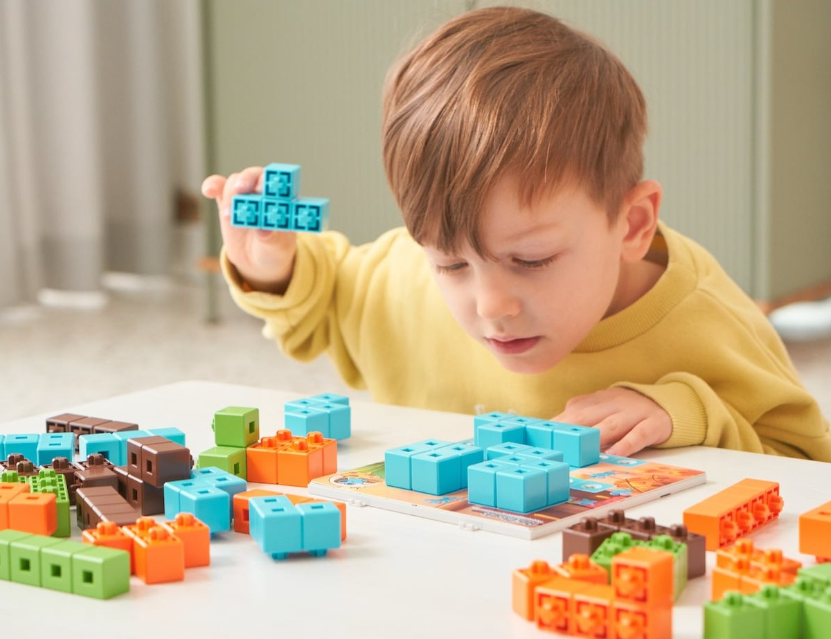 AniBlock Puzzle Challenger Game keeps your child engaged without screens