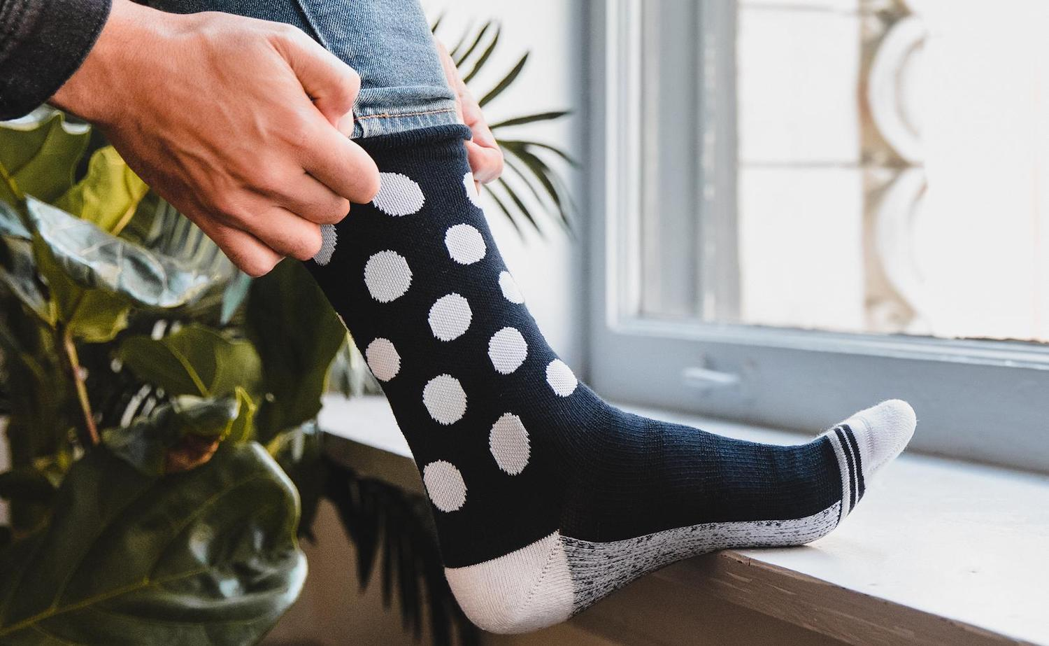 ArchTek® Arch Support Socks don't require an insole insert