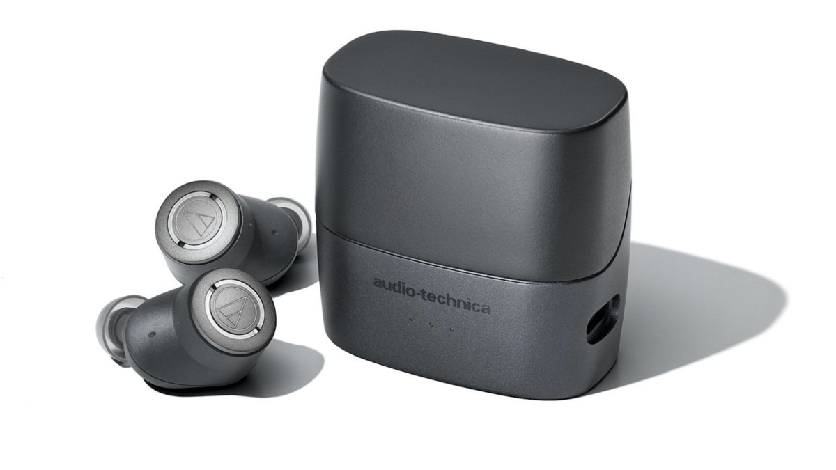 Audio-Technica QuietPoint ATH-ANC300TW In-Ear Headphones offer active noise cancellation
