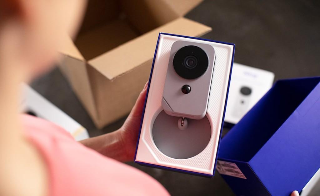 Blue Indoor HD Security Camera