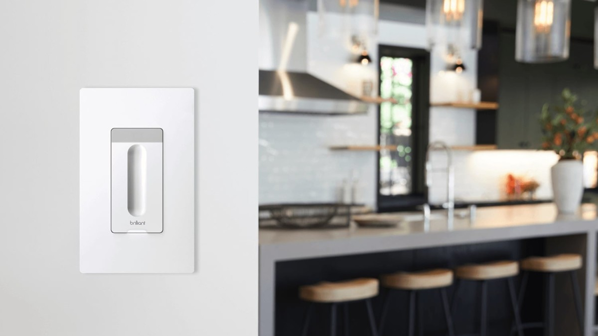 Brilliant Smart Dimmer Integrated Light Switch gives your regular bulbs extra smarts