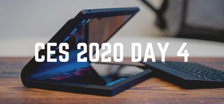 CES 2020 Day 4 – Panasonic VR glasses, TCL Alto 9 Plus immersive soundbar, Lenovo ThinkPad X1 Fold, and more