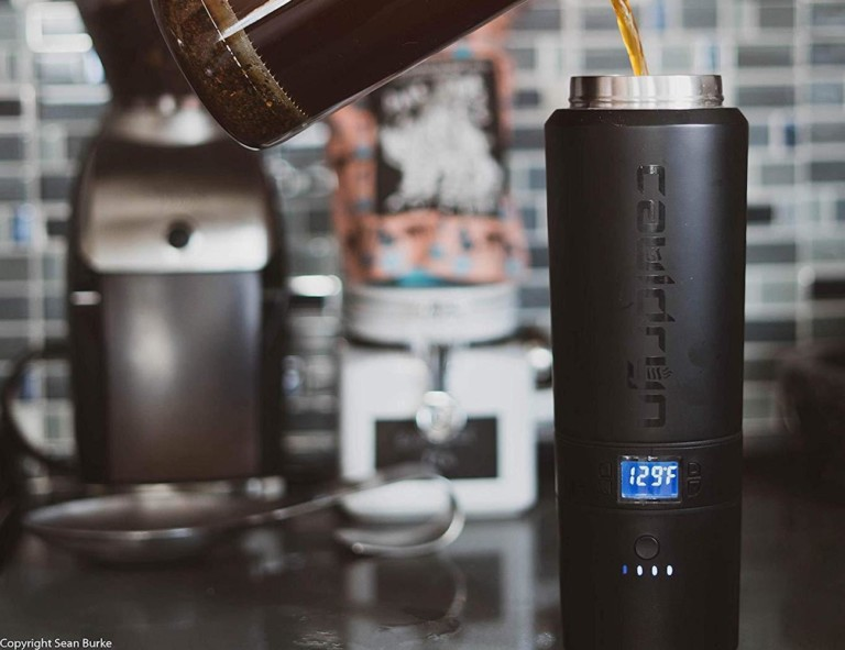 Cauldryn Coffee Battery Heated Travel Mug