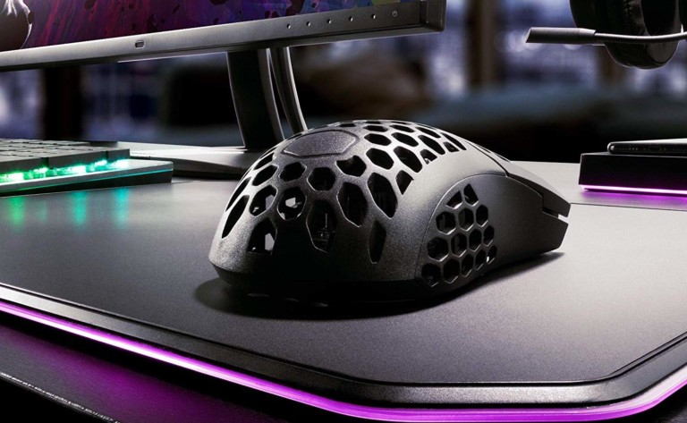 Cooler Master MM710 Honeycomb Gaming Mouse keeps you playing without overheating