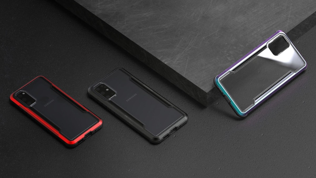 Defense Shield Galaxy S20 Series Cases can withstand drops of up to 10 feet