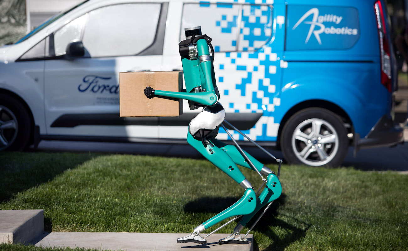 Digit Bipedal Robot represents the future of package delivery