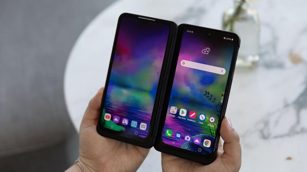 LG G8X ThinQ Smartphone with Dual Screen