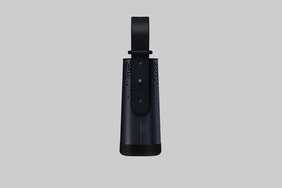 Flow 2 by Plume Labs Portable Air Pollution Sensor straps to virtually anything to measure air quality anywhere