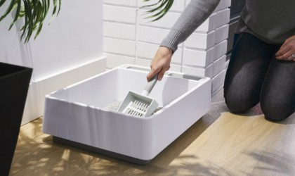 Tuft & Paw Cove All-in-One Recycled Litter Box