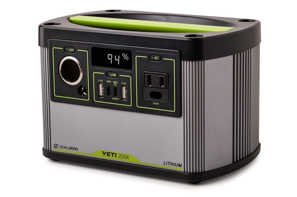 Goal Zero Yeti X Portable Battery Line offers their most powerful battery yet