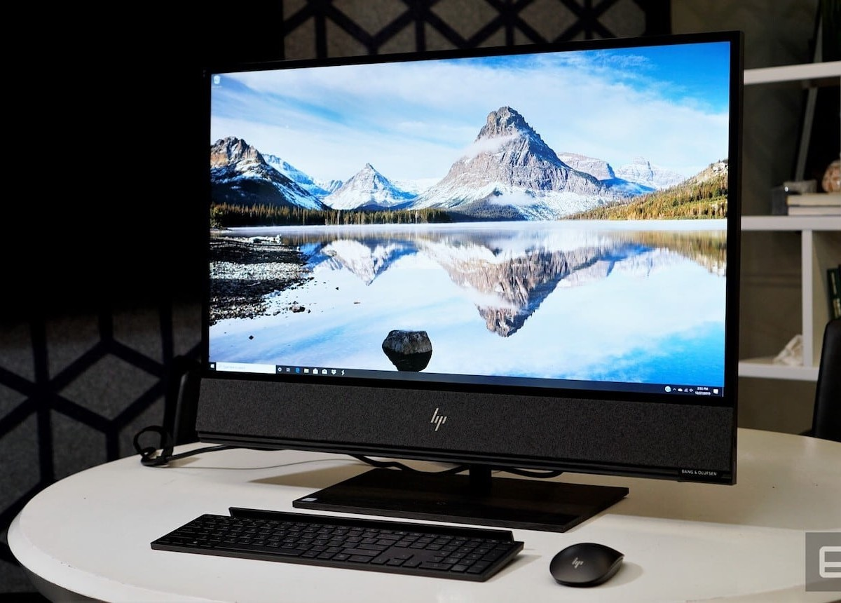 HP Envy 32 All-in-One Has a Built-In Bang & Olufsen Speaker Bar