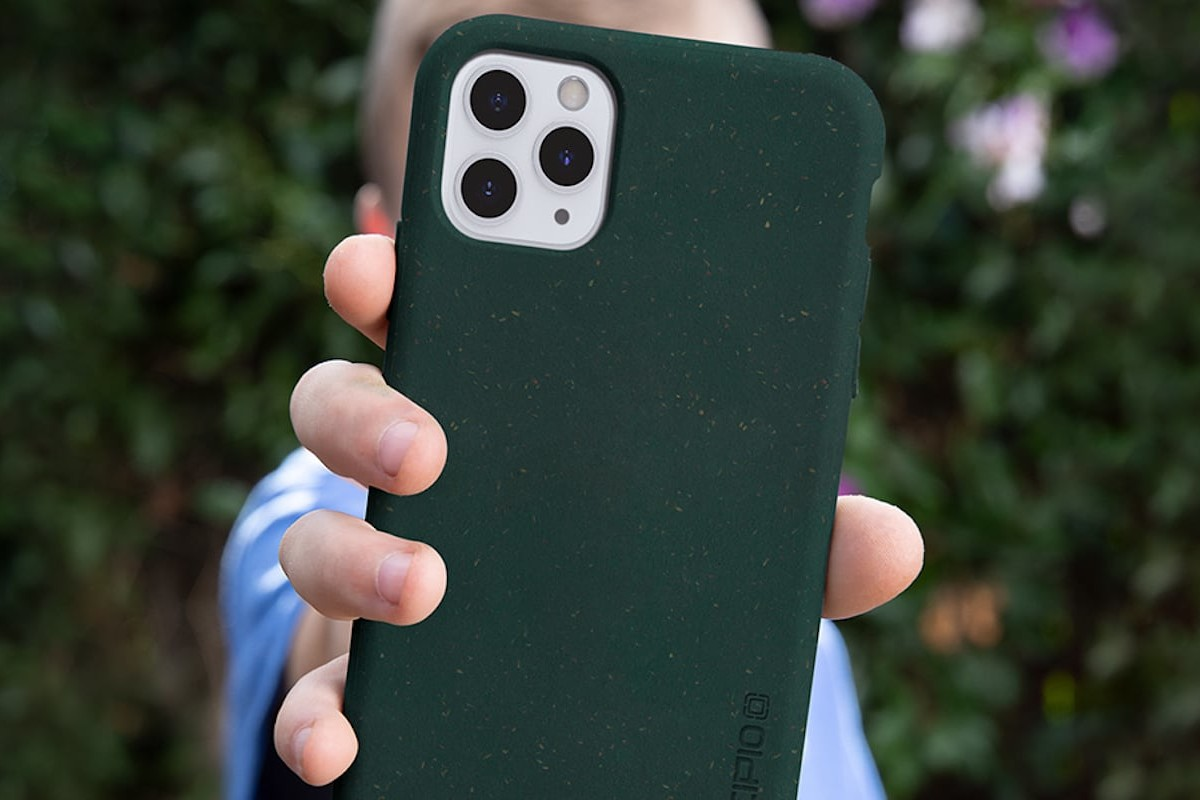 Incipio Organicore Cases Compostable Phone Covers are made entirely of plants