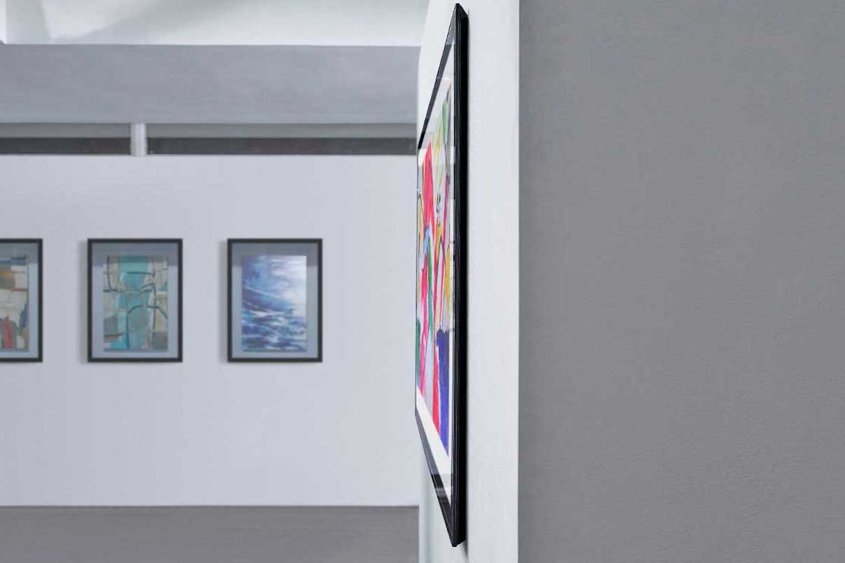 LG 2020 Gallery Series OLED TVs look like a piece of artwork on the wall