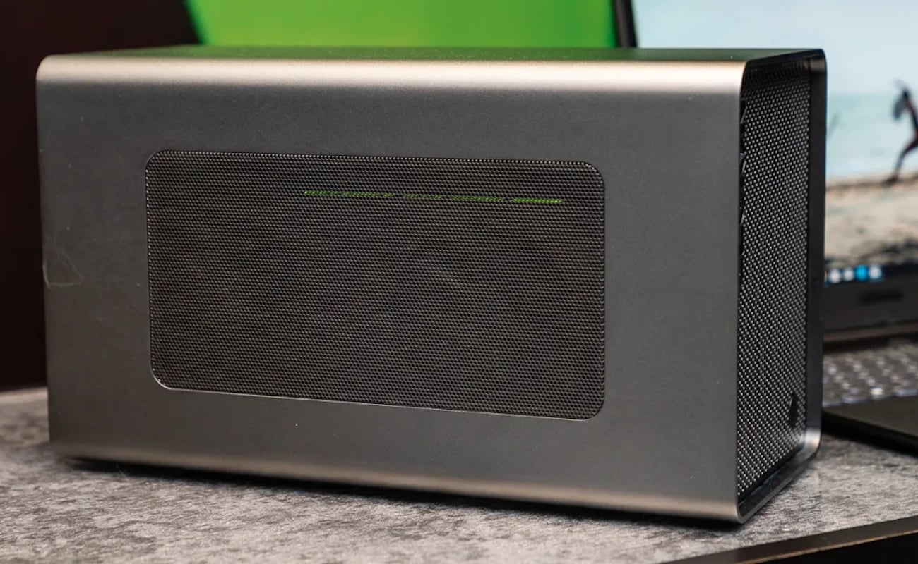 Lenovo Legion BoostStation Gaming Graphics Booster works as an eGPU enclosure