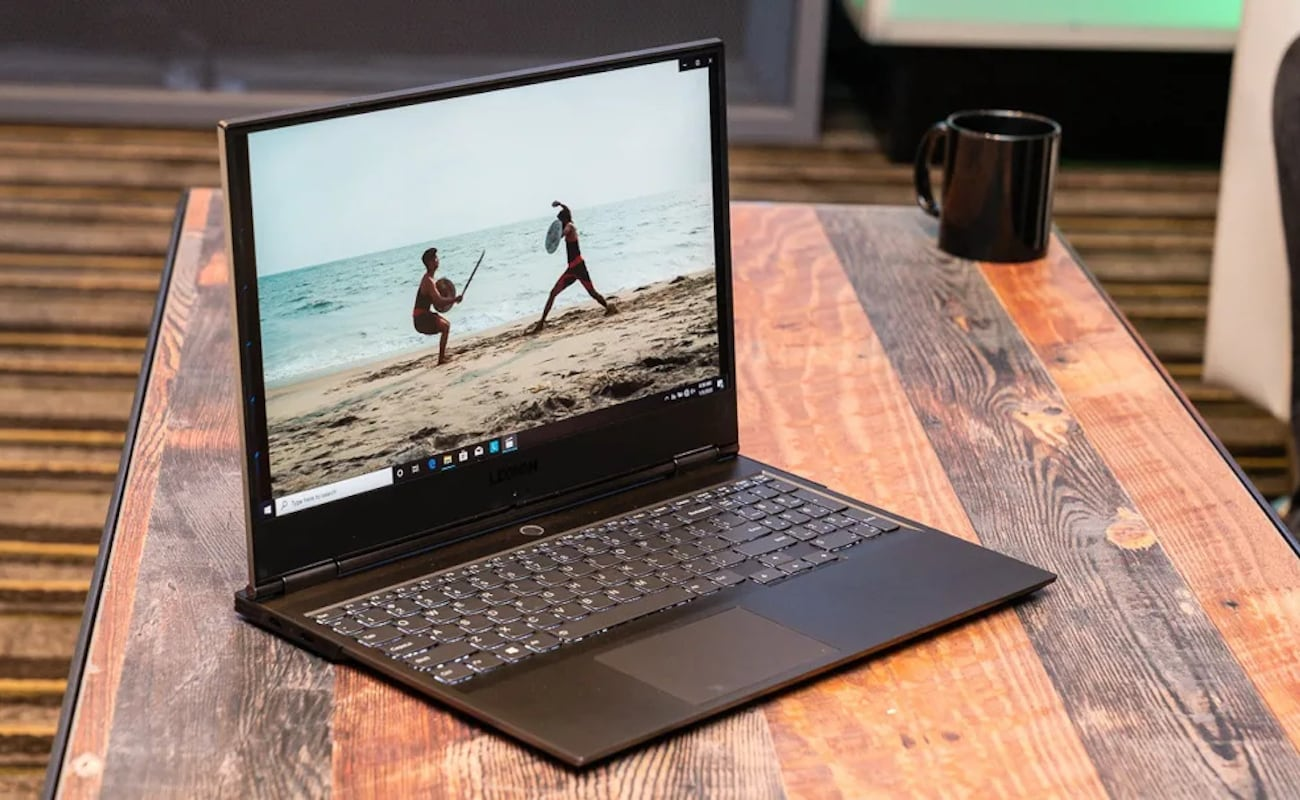Lenovo Legion Y740S Slim Gaming Laptop is lightweight for playing anywhere