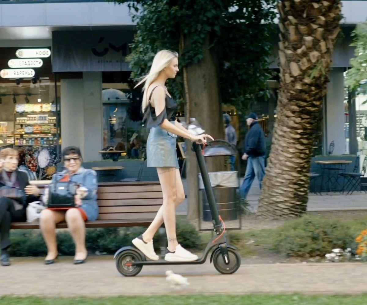 Levy Electric Swappable-Battery Scooters seriously speed up your commute